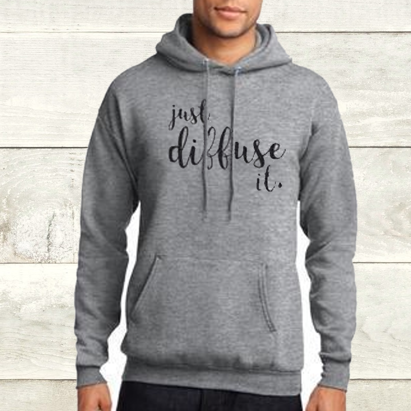 Elevate Athletic Heather Diffuse It Hoodie