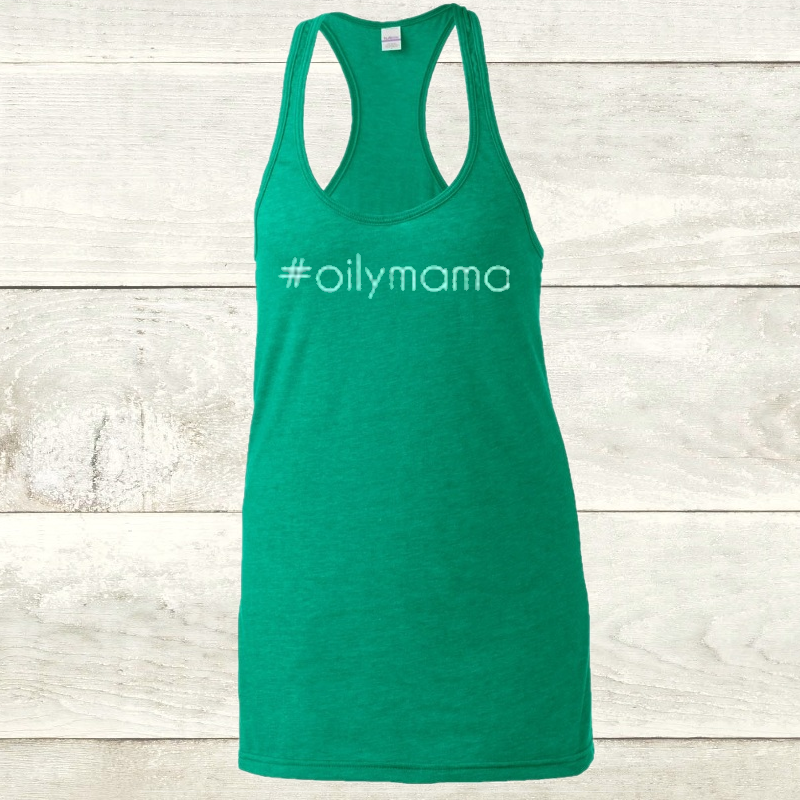 Elevate Heather Kelly Racerback Oilymama Tank
