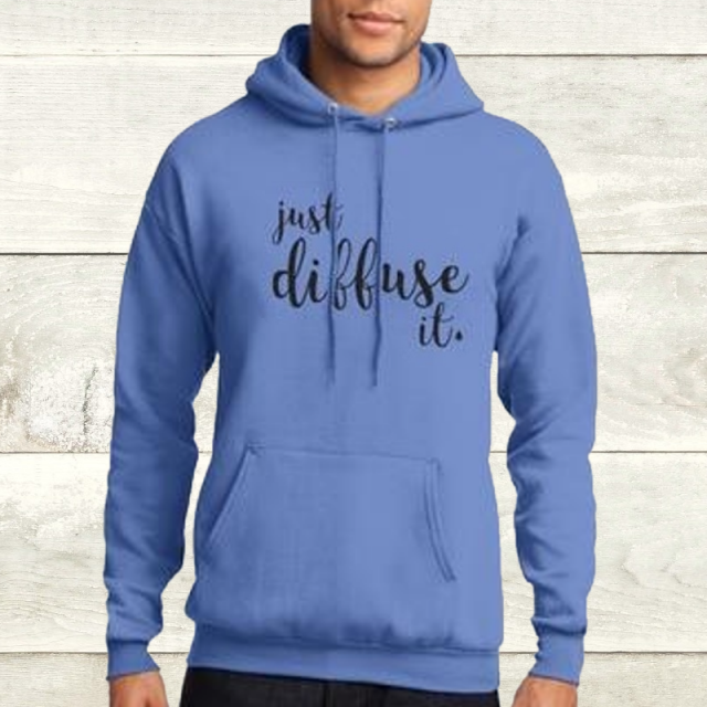 Elevate Carolina Blue Diffuse It Hoodie