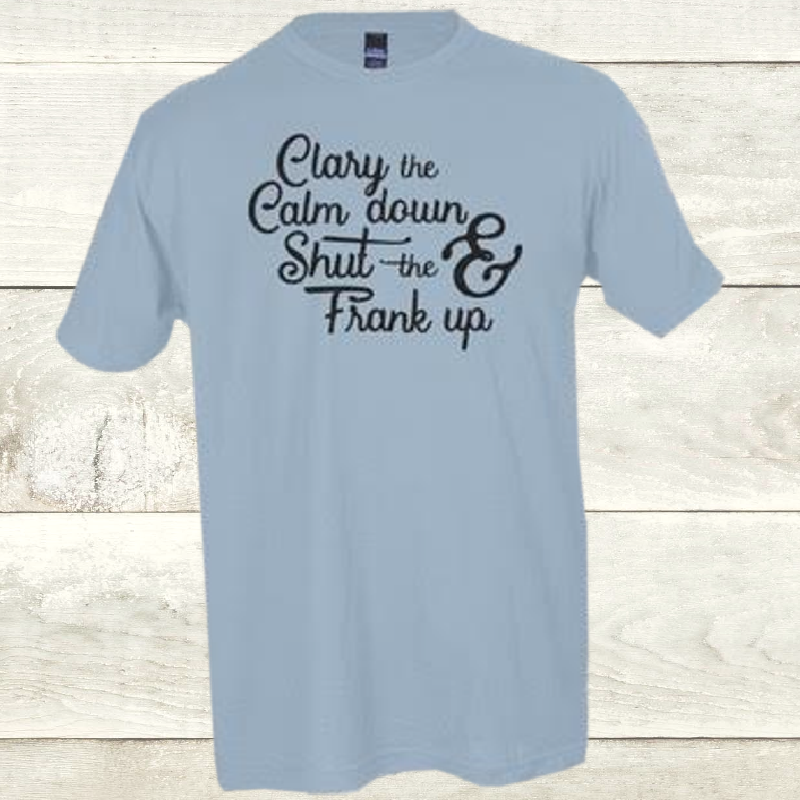 Elevate Baby Blue Clary Tee